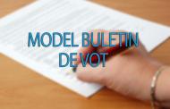 Model Buletin de vot