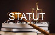 Statutul Colegiului Medicilor Romania (2017)
