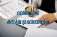 Obiectivele Comisiei de Avizari si Acreditari