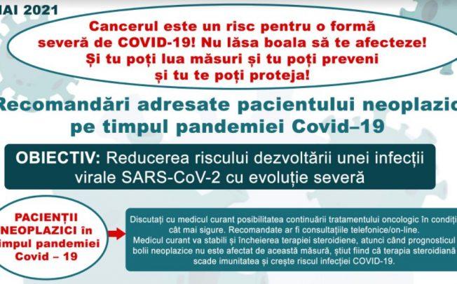 Saptamana Europeana de lupta impotriva cancerului 25-31 mai